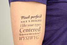 typography / by Christine Almeida