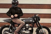 Oldies and cafe racers