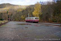 Harzer Schmalspurbahnen GmbH (HSB) - Dieseltriebwagen und Personenwagen / Sie sehen hier eine Auswahl meiner Fotos, mehr davon finden Sie auf meiner Internetseite www.europa-fotografiert.de.