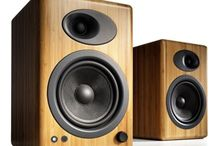 Audioengine / Audioengine products are based on custom designs with very few off-the-shelf parts. After years of building professional powered studio monitor speakers, Audioengine has taken their experience and created unique powered consumer speakers for your home and desktop.