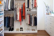 Walk In Closet Ideas / Custom closets for your bedroom can be anything from walk-in and reach-in closets to traditional wardrobes. California Closets Denver can help you turn a cluttered bedroom into a restful sanctuary. / by California Closets Denver