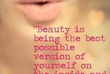 You are so Beautiful! / Inspirational quotes to promote beauty on the inside & out!