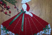 tapetes muñecas crochet