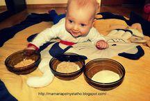 dla Maluszków / zabawy i prace plastyczne dla dzieci od 6 miesięcy