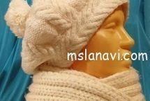 Knitting / Вязание / Hats