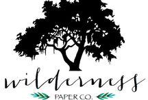 Wilderness Paper Co. + Wilderness Worn / Handmade Stationery, Paper Goods, and Jewelry