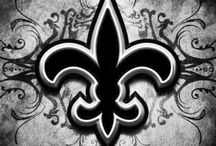 SAINTS NATION<3 NOLA BABY! / My first love, New Orleans Saints, where my roots are deep and my feet will always be planted. My blood runs black and gold!