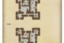 Dungeon of the Day / Dungeon tabletop RPG maps!