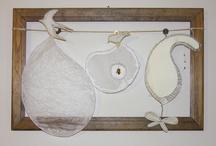 "my sculptures/installations - project: ""i piccoli luoghi"" / sculptures and installations from recycling materials -  http://www.paolarattazzi.com/"