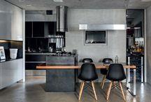Cozinha/Sala integrada