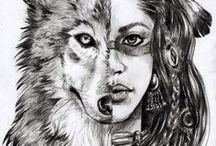 Wolves/ animals