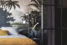 Black linen curtains