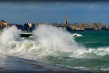 Grandes marées Saint Malo