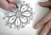 Doodles & Zentangles / Doodles. Zentangles. Illustration. Design. / by Dabbles & Babbles