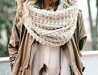 bulky ha mm d knitted scarfs.