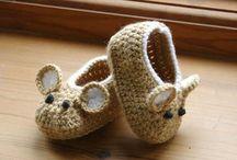 Zapatos Bebés Crochet