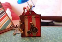 Ann Friks Original / Scrapbooking, manualidades, mixed media, miniaturas 100% original.