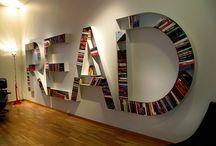 Books & Bookshelves / by Shannon Frazeur