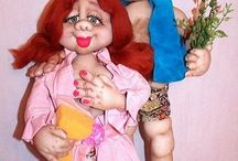 Мои куклы / Куклы ручной работы, есть в наличии или могу сделать похожую на заказ в любой цветовой гамме.