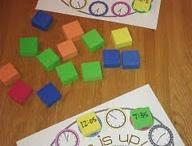 Kindergarten Math / by Jill Green /Chevron and Centers