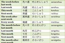 Japanese / I realized that I can't have just one board for all of the languages I am going to learn so...