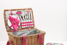 Picnicware / Our picnic collection has all you need for dining outdoors. From picnic baskets and hampers with all the essentials to blankets and picnic chairs in stunning Joules prints - all we can't give you is the sunshine.