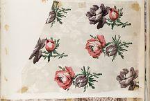 v i n t a g e / vintage inspirations patterns cloth pictures