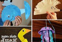 animal paper plate craft