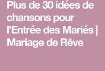 Idées de mariage