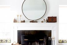 Fire place Deco / inspiration