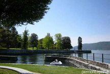Cerro -Laveno Mombello / Cerro is een strand aan de Lago Maggiore