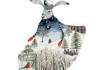 Art and Prints | Winter / Winter Whimsy for the Walls