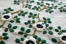 Knit and embroidery