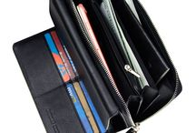 Large Capacity Clutch Genuine Leather Travel Wallets