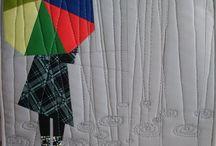 Rain ideas on fabric