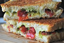 Vegetarian Burgers & Sandwiches / Burgers, wraps, sandwiches, and more / by VeggieBoards