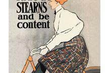 vintage transport posters / vintage cycle, automobile, train & plane posters