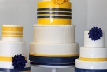 Yellow & Navy  / by Megan Kenney