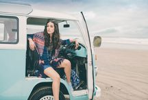 Rushmere Spring Summer Campaign 2015 / This shoot was captured at the beautiful North Coast in Northern Ireland.   #RushmereCamperVan