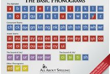 School - phonograms phonics / by Pirate Mum
