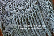 Crochet boho bags