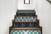 couloir escalier