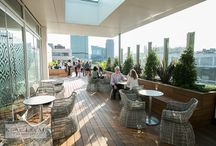 30 Euston Square Rooftop Terrace / Our rooftop terrace in the heart of London.