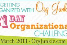 organizing Ideas - tips / by Susan Jansen