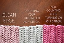 Crochet stitches,tips and tricks etc