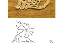 CROCHET ANIMALS APPLIQUE