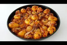 fırında soslu tavuk