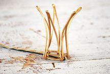 wire jewelry / by Larissa Kalusinski