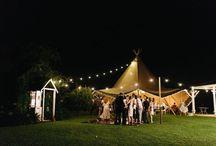Cassie & Marks Tipi Garden Wedding