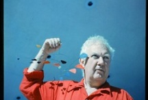 Alexander Calder / Saw a documentary about the artists Alexander Calder.  Didn't knew him. He was the first one to create so called kinetic art, mobiles etc. Very impressed by his work, his style and his personality. Trying to pin it...  Watch the episode:  http://www.uitzendinggemist.nl/afleveringen/1120451